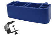 PiranhaLox 9-7760-4 Heavy Duty Supply Caddy with Large Table Mount