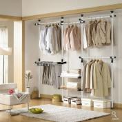 Deluxe Pants & Shelf Hanger | Clothing Rack | Closet Organiser
