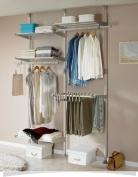 Prince hanger Neo-space Double 2 Tier Pants and Shelf Hanger