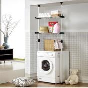 Double Adjustable Laundry Shelf | Clothing Rack
