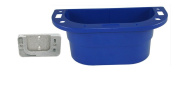 PiranhaLox 9-7541-4 Supply Caddy with Plastic Surface Mount