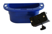 PiranhaLox 9-7550-4 Supply Caddy with Small Table Mount