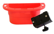 PiranhaLox 9-7550-6 Supply Caddy with Small Table Mount