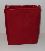 Longaberger Small Fabric Bin Divider - Colour Paprika - For Baskets, Drawers and Closets!