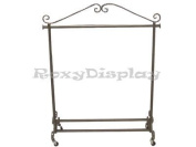 (RK-02C1)Boutique Garment Rack Classic Looks Clothing Display