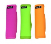 Cosmos ® 3 PCS Comfort Neoprene Handle Wraps/Grip / Identifier for Travel Bag Luggage Suitcase with Cosmos Fastening Strap