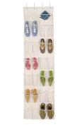 Over The Door Clear Shoe Organiser/Storage Rack