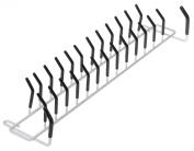 ClosetMaid Tie and Belt Rack, White #8051
