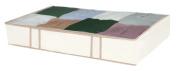 DAZZ Jumbo Underbed Storage Box with Cedar, Natural Canvas