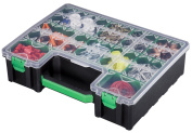 Stack-On DCOG-10 Deluxe Deep Cup Parts Storage Organiser with 10 Removable Cups