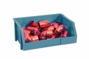 Stack-On BIN-8 Medium Parts Storage Organiser Bin, Blue