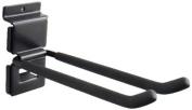 Viper Tool Storage VSW8DBL Slat Wall 20cm Double Hook