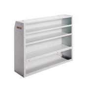 Weather Guard 9452-3-01 Brite White Welded E-Z Cube 4-Shelf Unit