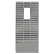 Mmf Time Card /Ticket Message Racks , Grey