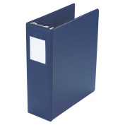 Wilson Jones Large Capacity Hanging Vinyl Binder, 5.1cm /650 Sheet Capacity, Blue