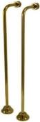 Kingston Brass CC462 Single Offset Bath Supply Lines 60cm Length, Polished Brass