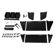 Wall Control Slotted Tool Board Workstation Accessory Kit for Wall Control Pegboard and Slotted Tool Board
