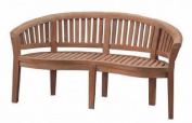 Anderson Teak BH-005CT Curve 3-Seater Extra Thick Bench