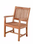 Rialto Slat Back Dining Armchair - Unfinished