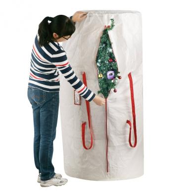 "Elf Stor Premium White Holiday Christmas Tree Storage Bag, Large(30"" x 60"" Bag)"