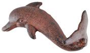 Nautical Rust Cast Iron Dolphin Wall Decor Hook Decor