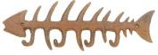 Antique Reproduction Cast Iron Fish Bones Wall Hook Peg