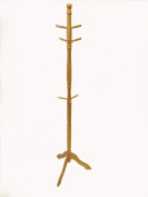 Buddy Products Bamboo Coat Rack, 18.1 x 180cm x 50cm