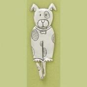 Basic Spirit Pewter Dog Hook, Made in Nova Scotia