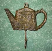 Cast Iron Princess Teapot Coat Hook