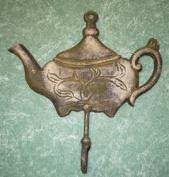 Cast Iron Queen Teapot Coat Hook