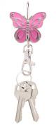 Alexx Finders Key Purse Pink Butterfly Key Finder