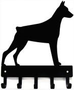 Doberman Dog Leash Hanger/ Key Rack