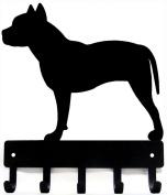Pit Bull Terrier Dog Leash Hanger/ Key Rack