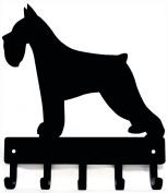 Miniature Schnauzer Dog Leash Hanger/ Key Rack