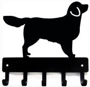Golden Retriever Dog Leash Hanger/ Key Rack
