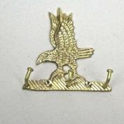 Solid Brass Eagle Key Hook