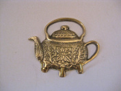 Solid Brass Teapot Key Hook