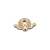 Rohl U.6922PN Perrin and Rowe Double Robe Hook in Polished Nickel