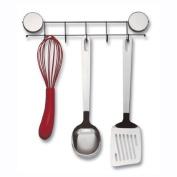 Better Houseware Magnetic Hook Rack, Stainless