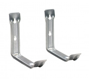 Lehigh UHS3 Hang-It-All Utility Bracket Hook, Silver