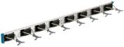 Crawford-Lehigh 36360-6 Ultra Hold 90cm by 13cm Eight-Hook Tool Rack