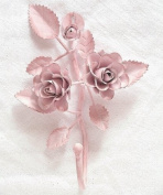 New Shabby Vintage Metal Rose Style Hanger ~ Towel~Robe~Bath~Coat~Wall Hook ~ RH11