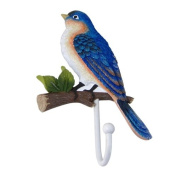 Bird on Branch House Finch Wall Hook for Coat Hat Purse