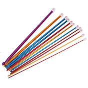 11 Sizes Multi Coloured Aluminium Crochet Hooks Needles Set 2mm-8mm