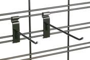 Tucker Rocky 10cm . Display Grid Hook - Chrome GWH4