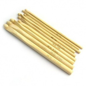 4mm-10mm bamboo crochet hooks