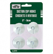 Suction Cup Hooks - 4 Pack