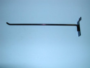 30cm HOOK WITH 30 DEGREE TIP SLATWALL Case of 100-Black