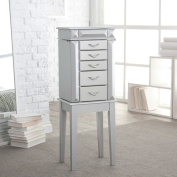 York Silver Jewellery Armoire