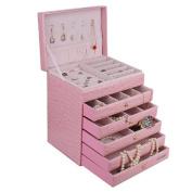 Extra Large Jewellery box Cabinet Armoire Bracelet Necklace Storage Case ZG209